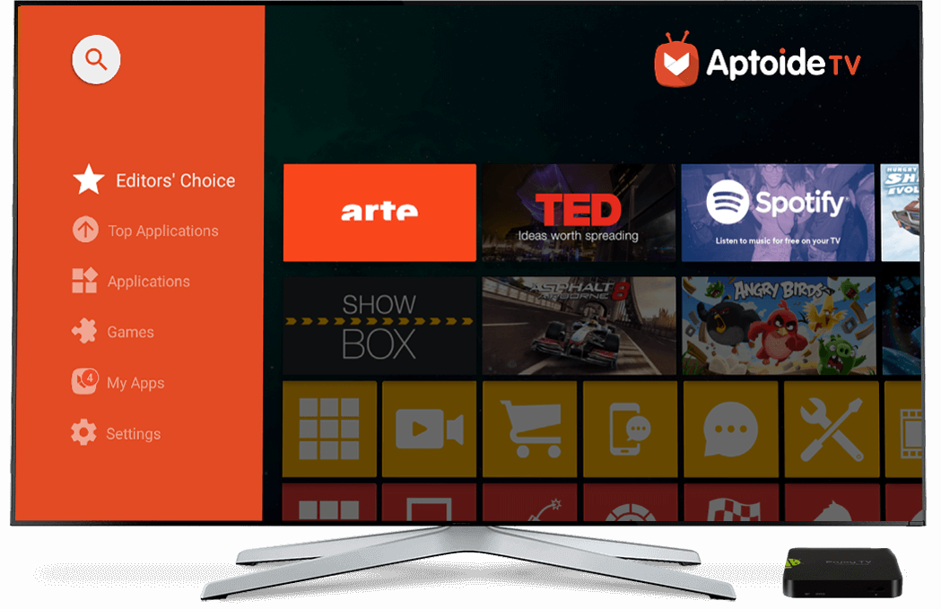 Aptoide Tv The Optimised App Store For Your Set Top Box